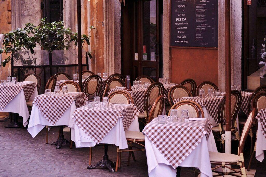 pulizia tovagliato ristoranti roma balduina